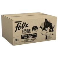 Felix As Good As It Looks Adult Cat Food in Jelly (Mixed Selection) big image