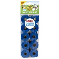 Bags on Board Blue Poo Bag Rolls (140 Bags) big image