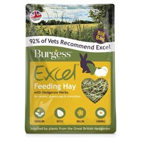 Burgess Excel Feeding Hay with Hedgerow Herbs 3kg big image
