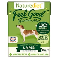 Naturediet Feel Good Wet Food for Adult Dogs (Lamb) big image