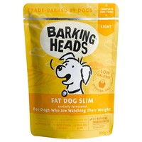 Barking Heads Adult Wet Dog Food Pouches (Fat Dog Slim) big image