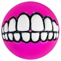 Rogz Grinz Treat Ball Pink big image