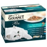 Purina Gourmet Perle Ocean Delicacies Cat Food Variety big image