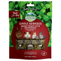 Oxbow Simple Rewards Baked Treats with Peppermint 60g big image