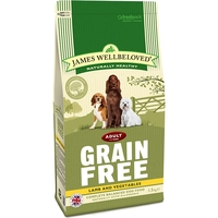 James Wellbeloved Adult Dog Grain Free (Lamb and Vegetables) big image
