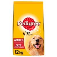 Pedigree Complete Adult Dry Dog Food (Beef & Vegetable) 12kg big image
