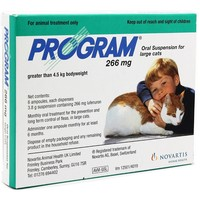 Program Suspension 266mg for Large Cats (Pack of 6) big image