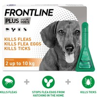 FRONTLINE Plus Flea and Tick Treatment for Small Dogs big image