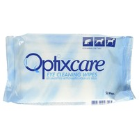 Optixcare Eye Cleaning Wipes (50 Pack) big image