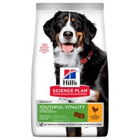 Hills Science Plan Youthful Vitality Mature 6+ Large Breed Dry Dog Food big image