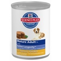 Hills Science Plan Mature 7+ Active Longevity Adult Dog Food Tins (12 x 370g) big image