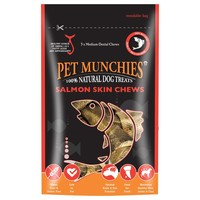 Pet Munchies Salmon Skin Dog Chews big image