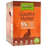 Natures Menu Country Hunter Cat Food 6 x 85g Pouches (Chicken and Goose) big image