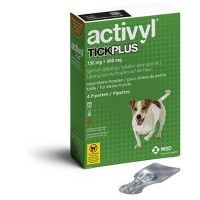 Activyl TickPlus Spot-On for Small Dogs (4 x 150mg Pipettes) big image