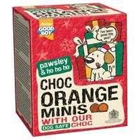 Good Boy Pawsley Christmas Choc Orange Minis big image