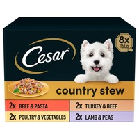 Cesar Country Stew Adult Wet Dog Food Trays in Gravy big image