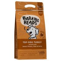 Barking Heads Complete Adult Dry Dog Food (Top Dog Turkey) big image