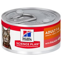 Hills Science Plan Adult Cat Food Tins (Salmon) big image