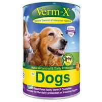 Verm-X Herbal Worming Crunchies for Dogs big image