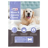 VetUK Stress and Anxiety Chews for Dogs big image