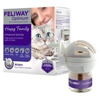 Feliway Optimum Diffuser 30 Day Starter Kit big image