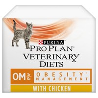 Purina Pro Plan Veterinary Diets OM St/Ox Obesity Management Wet Cat Food Pouches big image