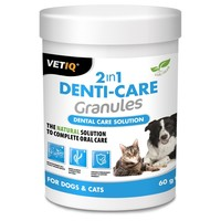 VetIQ 2in1 Denti-Care Granules 60g big image