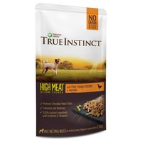 True Instinct High Meat Fillets Small Breed Dog Food (Free Range Chicken) big image