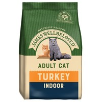 James Wellbeloved Adult Cat Indoor Dry Food (Turkey) big image