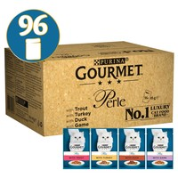 Purina Gourmet Perle Adult Cat Food Pouches (Country Medley) big image