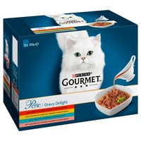 Purina Gourmet Perle Gravy Delight Wet Cat Food big image
