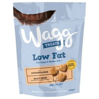 Wagg Low Fat Treats for Dogs (Chicken and Rice) 125g big image