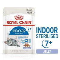 Royal Canin Indoor Sterilised 7+ Senior Cat Food Pouches in Jelly big image