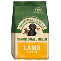 James Wellbeloved Senior Dog Small Breed Dry Food (Lamb & Rice) big image