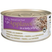 Applaws Adult Cat Food in Jelly 24 x 70g Tins (Mackerel with Seabream) big image