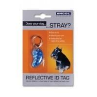 Ancol Reflective Dog ID Tag big image