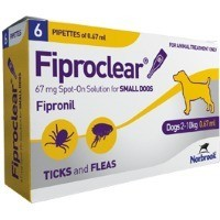 Fiproclear Spot-On Solution for Small Dogs big image