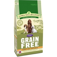 James Wellbeloved Senior Dog Grain Free (Turkey and Vegetables) big image