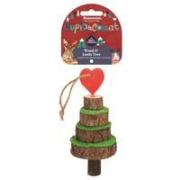 Rosewood Cupid & Comet Wood & Loofa Christmas Tree for Small Animals big image