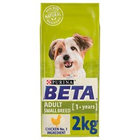 Purina BETA Small Breed Adult Dry Dog Food (Chicken) 2kg big image