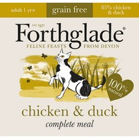 Forthglade Complete Meal Grain Free Cat Food (Chicken & Duck) 12 x 90g big image