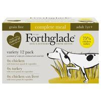 Forthglade Complete Meal Grain Free Dog Food Variety Pack (Poultry) big image
