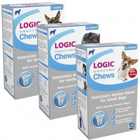 Logic Orozyme Dental Chews for Dogs big image
