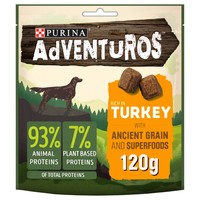 Purina Adventuros Rich in Turkey with Ancient Grains and Superfoods 120g big image