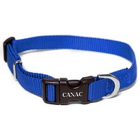 Canac Adjustable Dog Collar Blue big image