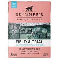 Skinners Field and Trial Adult Wet Dog Food (Salmon & Steamed Veg) big image