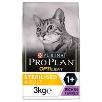 Purina Pro Plan OptiLight Light Adult Cat Food (Turkey) big image