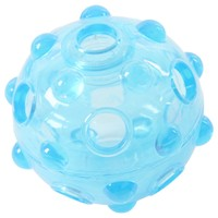 Buster Ice Blue Crunch Ball Toy big image