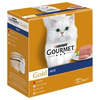 Purina Gourmet Gold Pate Wet Cat Food Tins (Variety Pack) big image