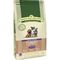 James Wellbeloved Senior Dog Small Breed Turkey and Rice big image